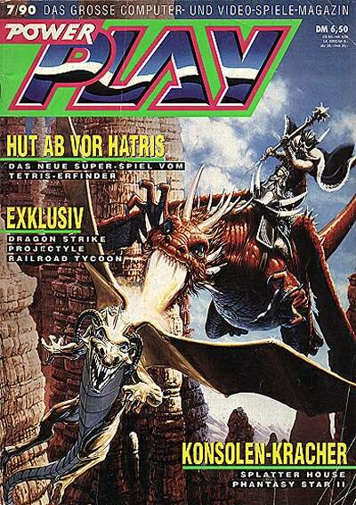 Dragonflight Review for the Atari ST by PowerPlay